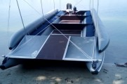 BOATHOUSE TRAVEL XXL inflatable catamaran gangway