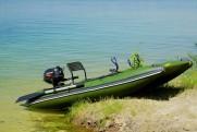 НОВИНКА! Одноместная рыбацкая лодка Bobrenok BOATHOUSE-
