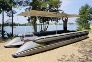 Commercial inflatable catamarans TRAVEL XXL