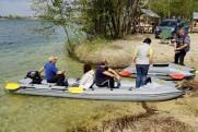 Transom kayaks for SPORT BOATHOUSE motor