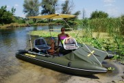 Pvc catamarans for fishing SMART FISHER BOATHOUSE