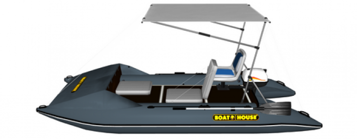 Inflatable catamarans FISHER