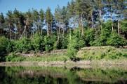 Река Северский Донец в мае 2013 Левковка - Савинцы - Левковка