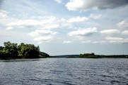 Река Северский Донец - Печенежское вдхр. в июле 2009