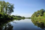 The Dnieper River (Dneprdzherzhinskoye Reservoir), the mouth of the Psel and Vorskla Rivers in July 2011 Kremenchug - Kobelyaki - Kremenchug