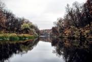 Река Северский Донец в ноябре 2010 Задонецкое - Короповы Хутора - Задонецкое