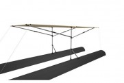 Awning for boat 280Х180 (FISHER, SEA FISHER)