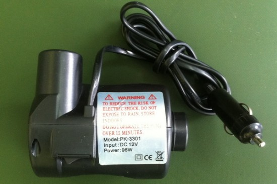 Electric pump for boats