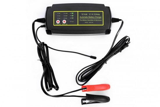 Impulse charger 12V 8A, 1208