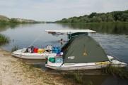 Легкий катамаран для рыбалки SMART FISHER 701