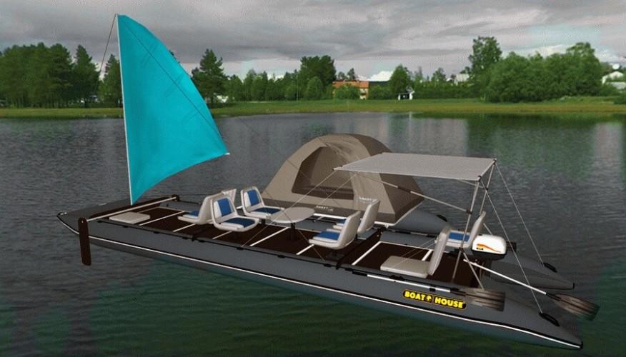 комплект парусного вооружения для надувной лодки