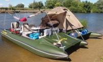 Catamaran PVC SEA FISHER 611