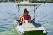 Light catamaran SMART FISHER 395