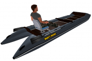 Light catamaran SMART FISHER 570