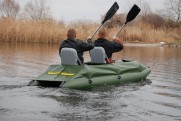 Frame-inflatable kayak Stream 360