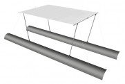 Awning (long) for boat 230Х250 (TRAVEL, TRAVEL MAX)