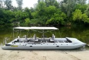 Marine catamaran TRAVEL MAX 791