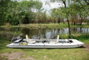 Надувной катамаран для рыбалки FISHER 590
