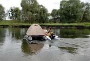 Надувной катамаран ПВХ FISHER 660