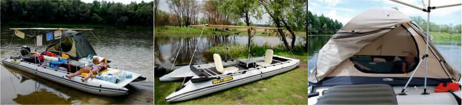 Надувные лодки. байдарки