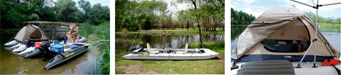 Надувной катамаран FISHER 590
