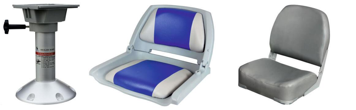 Стойка кресла алюминиевая