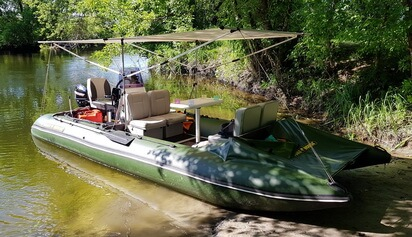 надувные катамараны для рыбалки