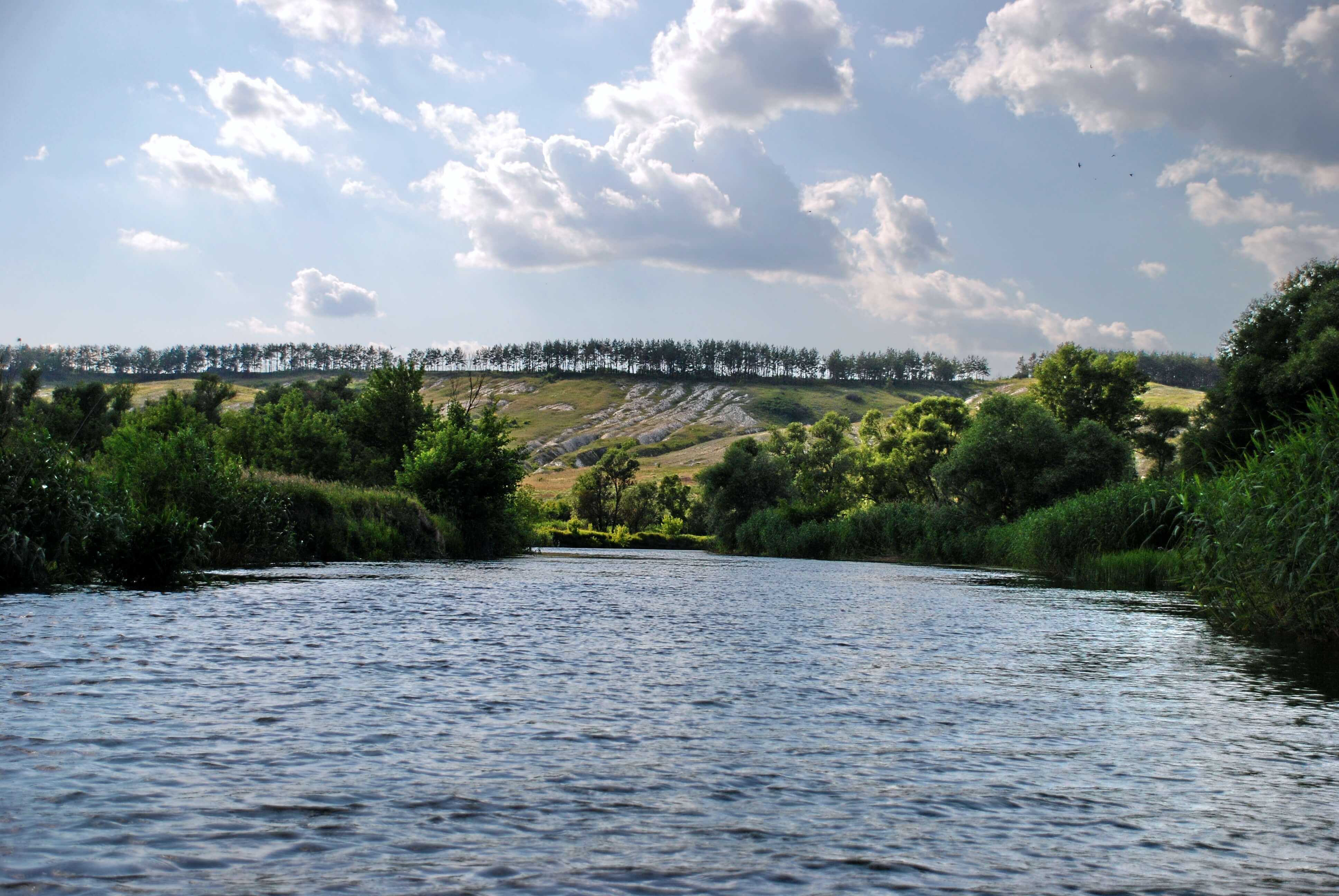 Картинки река оскол