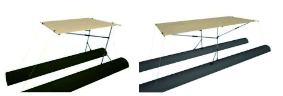 Тенты на надувные лодки